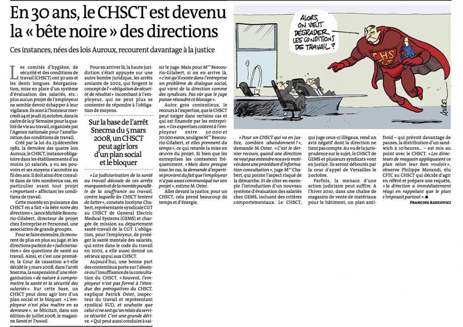 20121026-Le Monde-En 30 ans, le CHSCT est devenu la « bête noire » des directions
