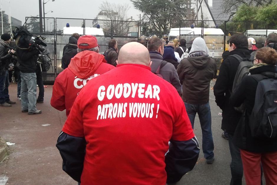 La condamnation des syndicalistes de Goodyear est révoltante !