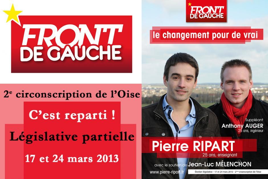 Législative partielle - 2e circonscription de l'Oise, 17 et 24 mars 2013