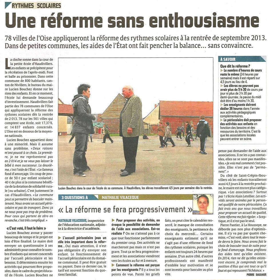 20130507-CP-Oise-Une réforme des rythmes scolaires sans enthousiasme