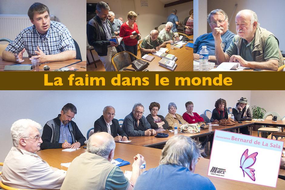 Espace Marx Oise « La faim dans le monde », avec Gérard Le Puill - Villers-Saint-Paul, 28 juin 2013
