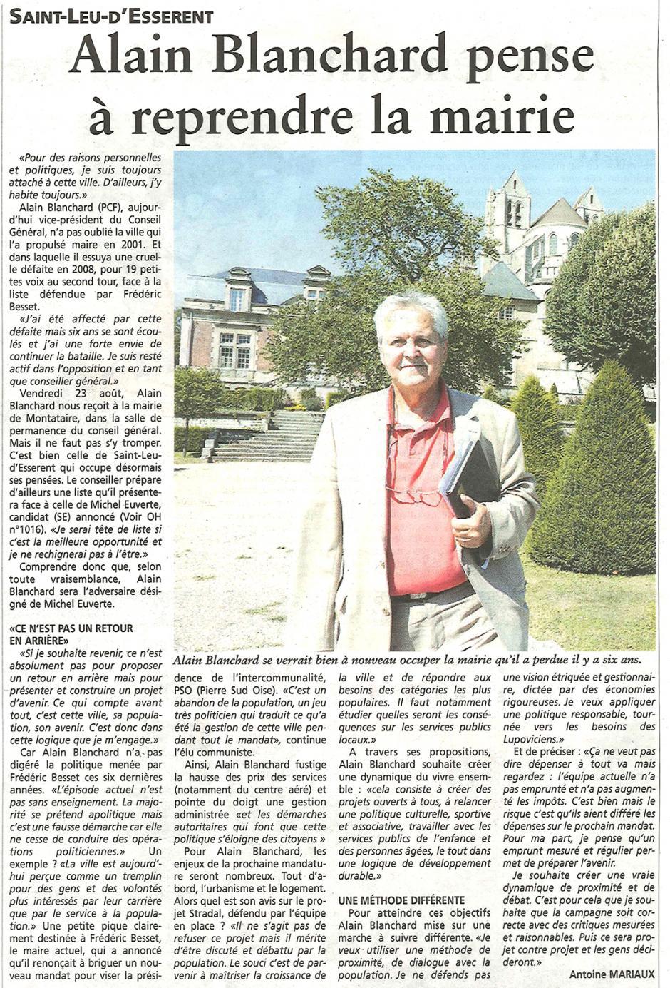 20130828-OH-Saint-Leu-d'Esserent-Alain Blanchard pense à reprendre la mairie