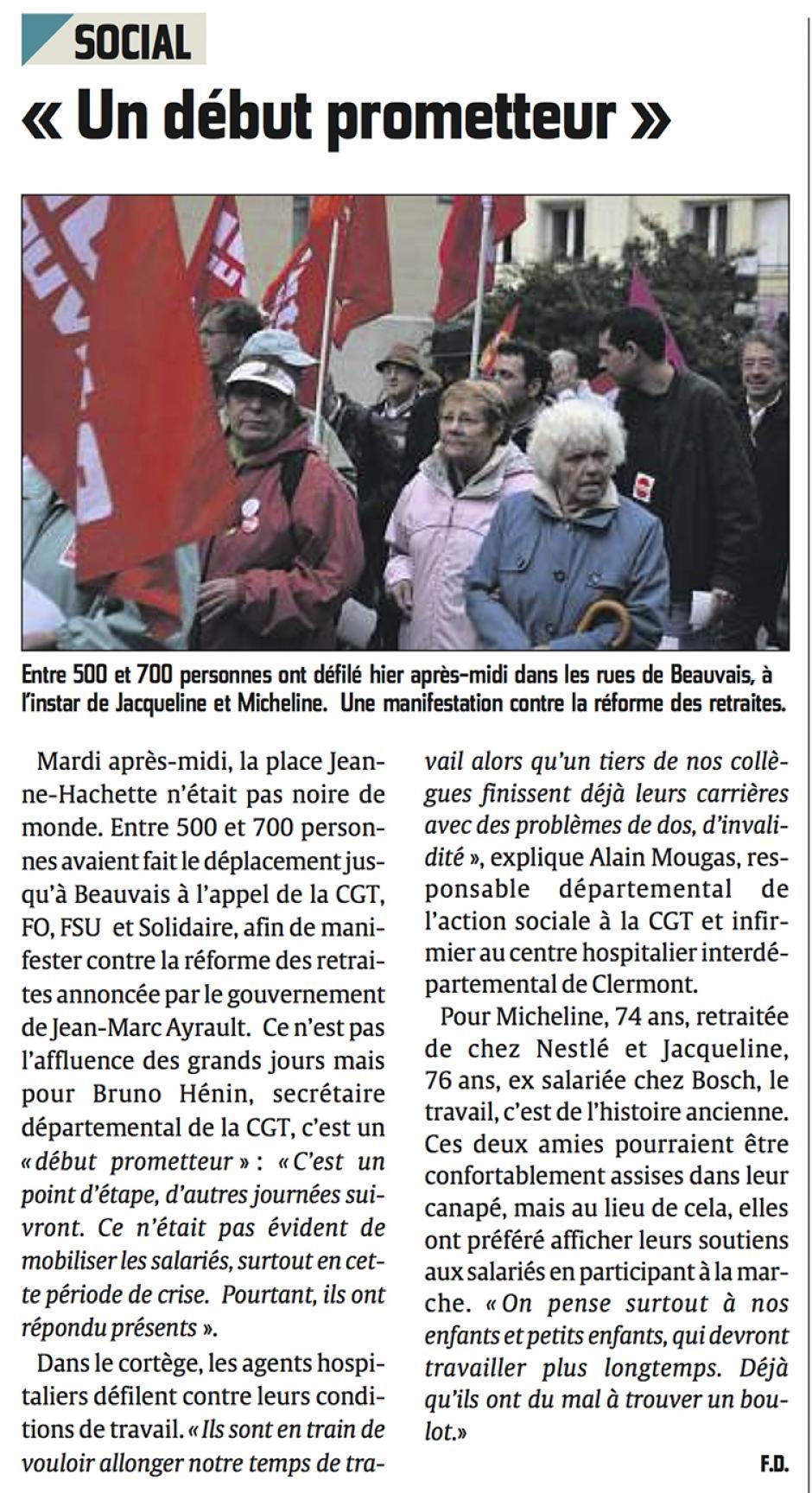20130911-CP-Beauvais-« Un début prometteur » [manifestation du 10 septembre]