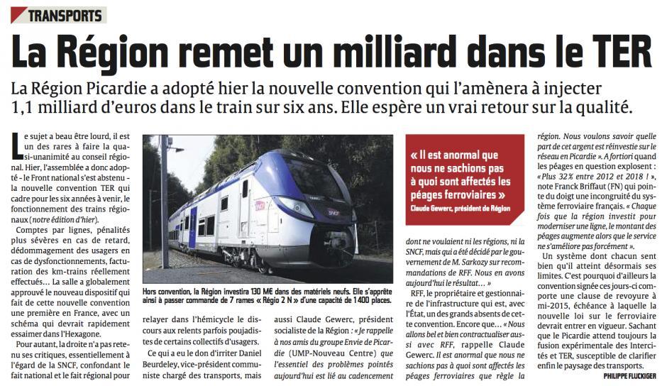 20130928-CP-Picardie-SNCF : la Région remet un milliard dans le TER
