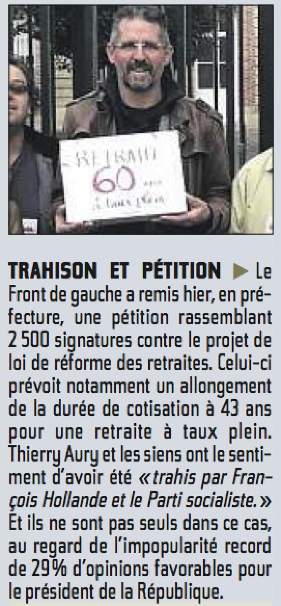 20131012-CP-Oise-Trahison et pétition [remise des pétitions PCF à la préfecture]