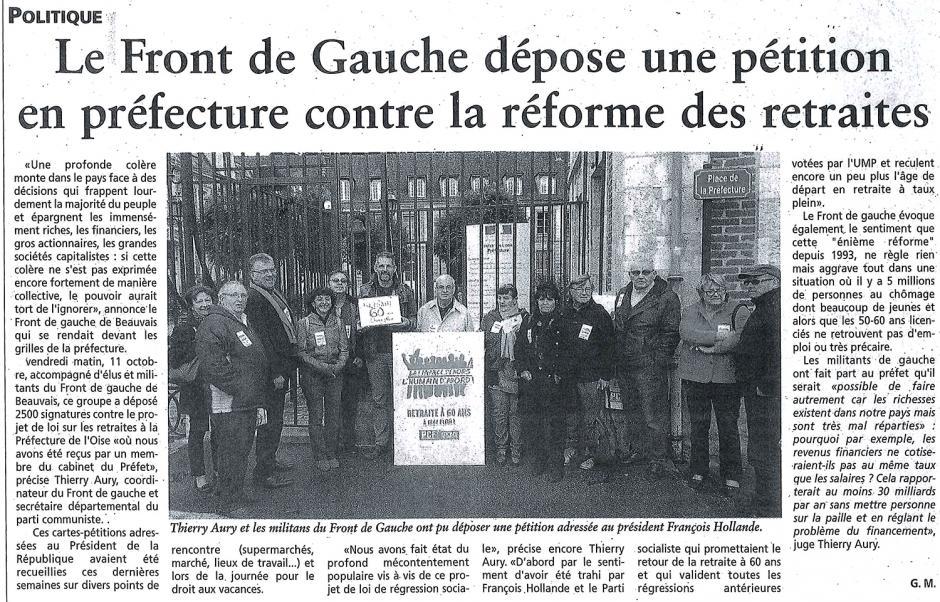 20131016-OH-Beauvais-Le Front de gauche dépose une pétition en préfecture contre la réforme des retraites