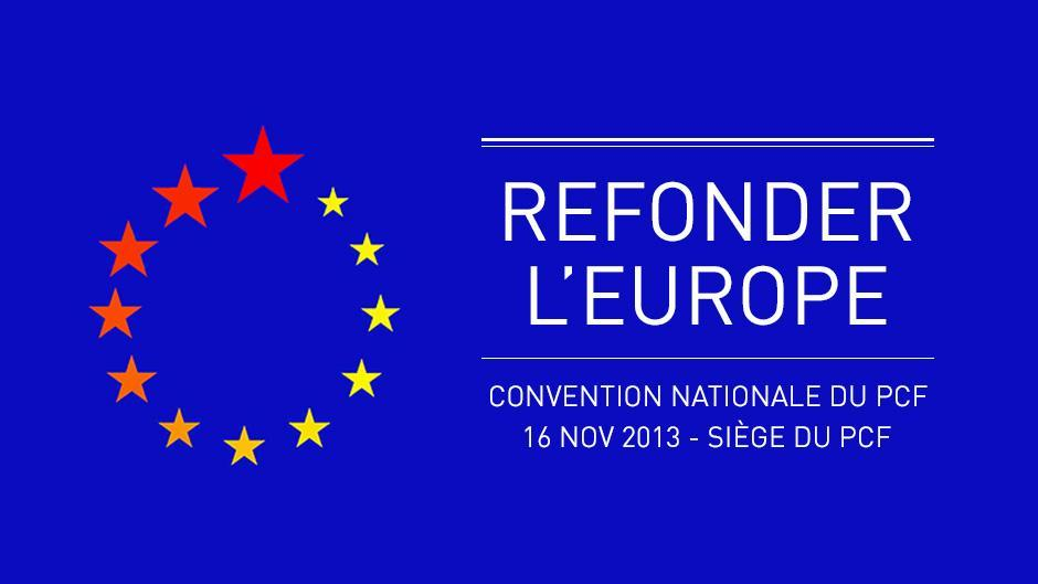 Convention PCF « Refonder l'Europe » - Je participe !