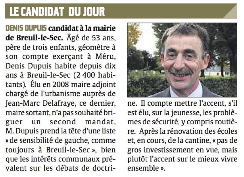 20131105-CP-Breuil-le-Sec-M2014-Le candidat du jour : Denis Dupuis