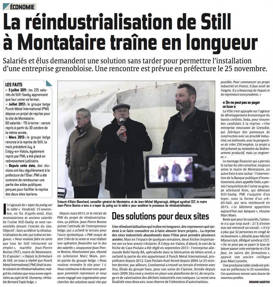 20131118-CP-Montataire-La réindustrialisation de Still traîne en longueur [version Compiègne]