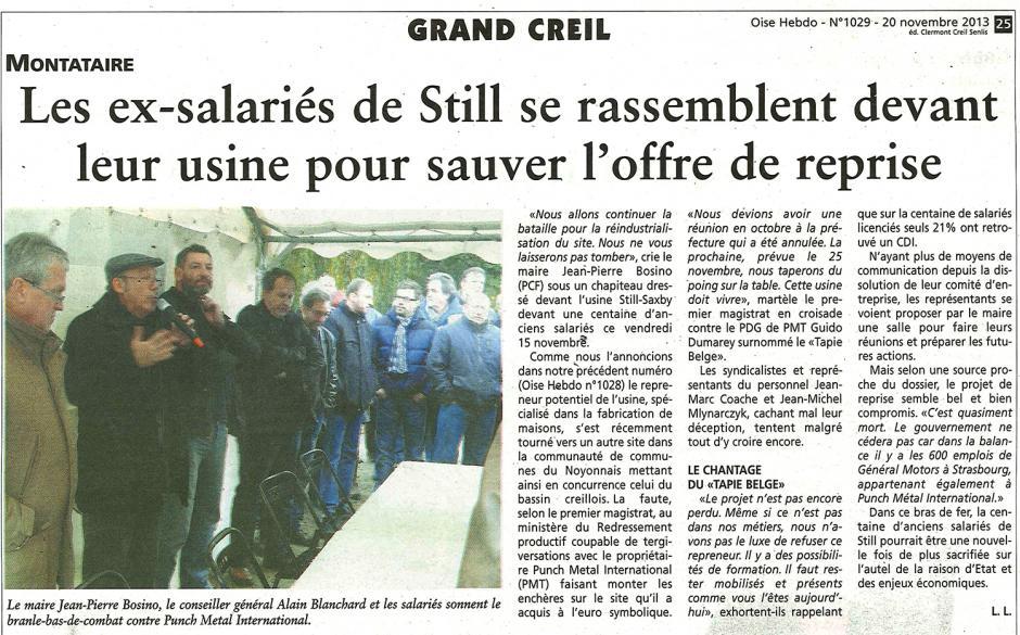 20131120-OH-Montataire-Les ex-salariés de Still se rassemblent devant leur usine pour sauver l'offre de reprise