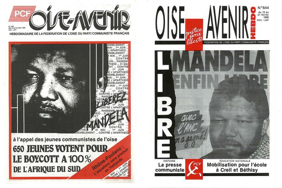 La lutte contre l'apartheid relatée par notre journal fédéral Oise Avenir