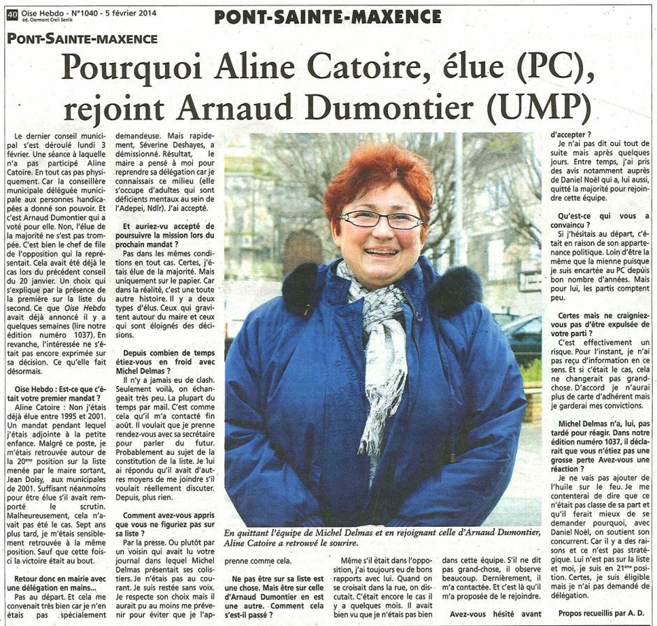 20140205-OH-Pont-Sainte-Maxence-M2014-Pourquoi Catoire (PC) rejoint Dumontier (UMP)
