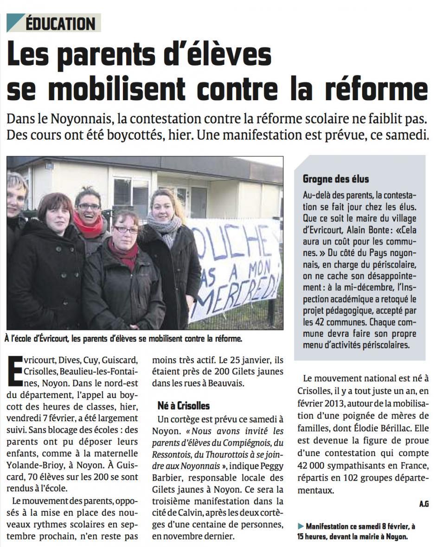 20140208-CP-Noyonnais-Les parents d'élèves se mobilisent contre la réforme