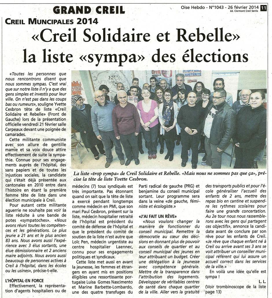 20140226-OH-Creil-M2014-« Creil, solidaire et rebelle », la liste « sympa » des élections