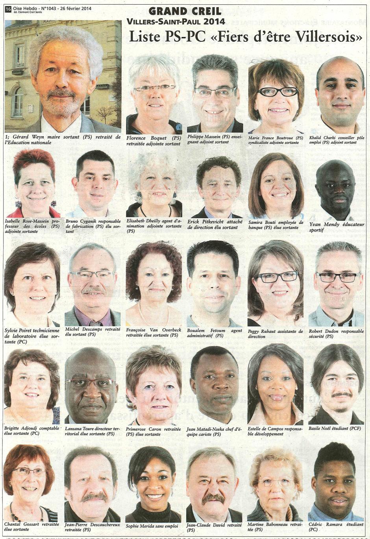 20140226-OH-Villers-Saint-Paul-M2014-Liste PS-PC « Fiers d'être Villersois »
