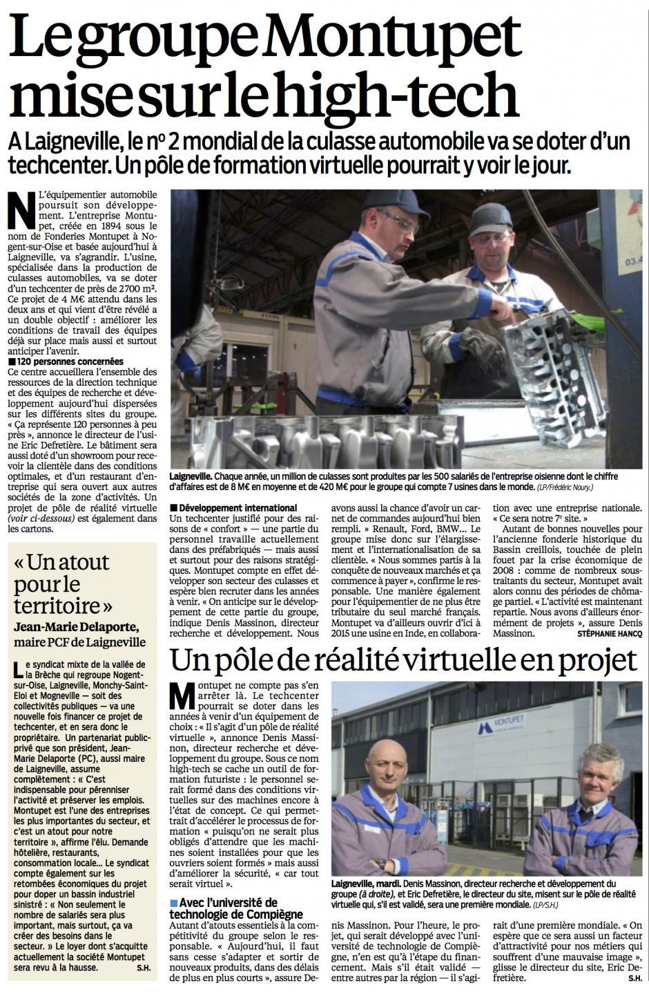 20140227-LeP-Laigneville-Le groupe Montupet mise sur le high-tech