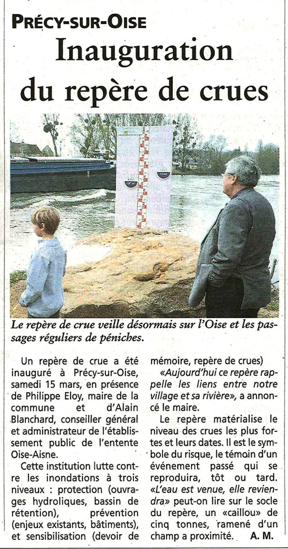 20140319-OH-Précy-sur-Oise-Inauguration du repère de crue [Alain Blanchard]