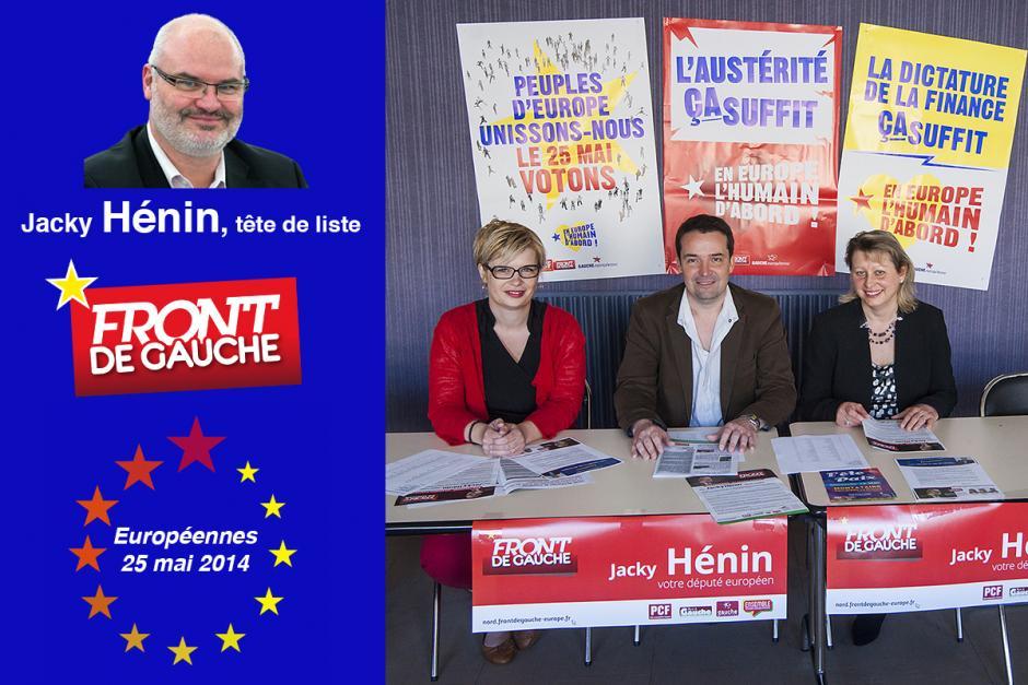 Élection européenne : le Front de gauche a lancé sa campagne dans l'Oise - 30 avril 2014