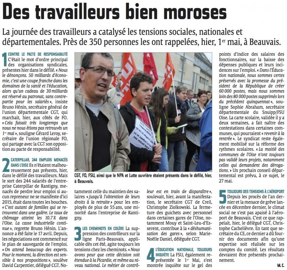 20140502-CP-Beauvais-1er mai : des travailleurs bien moroses