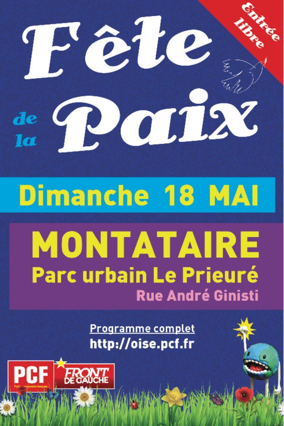 18 mai, Montataire - 10e Fête de la Paix