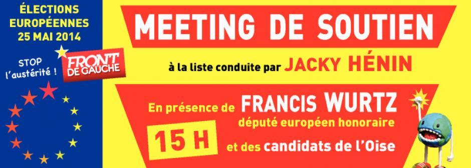 Bandeau de la 10e Fête de la Paix à Montataire - Oise, 25 avril 2014