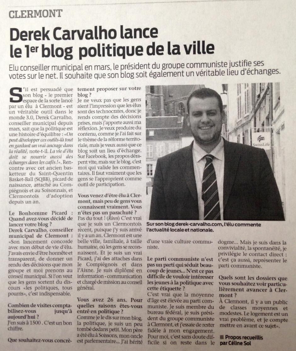 20140625-BonP-Clermont-Derek Carvalho lance le premier blog politique de la ville