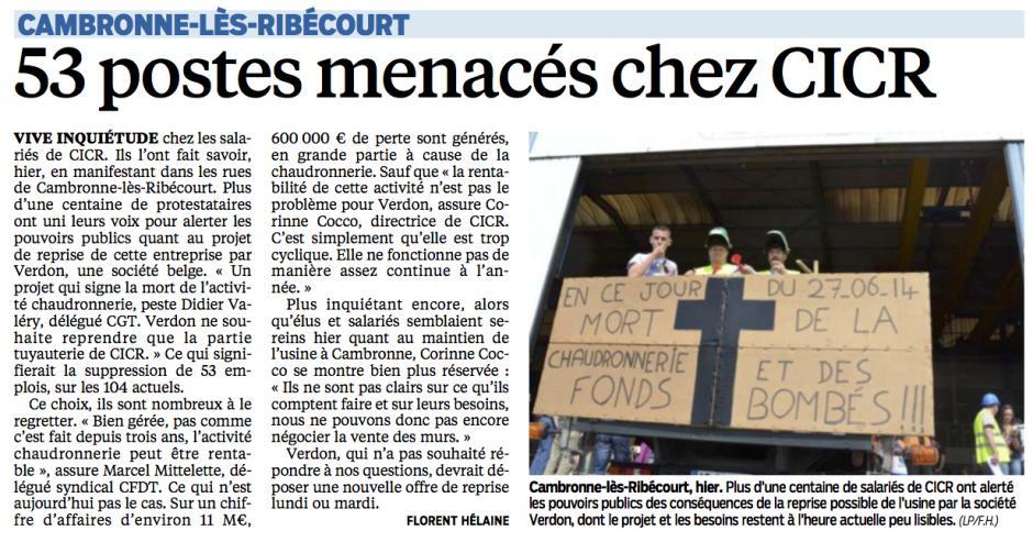 20140628-LeP-Cambronne-lès-Ribécourt-53 postes menacés chez CICR