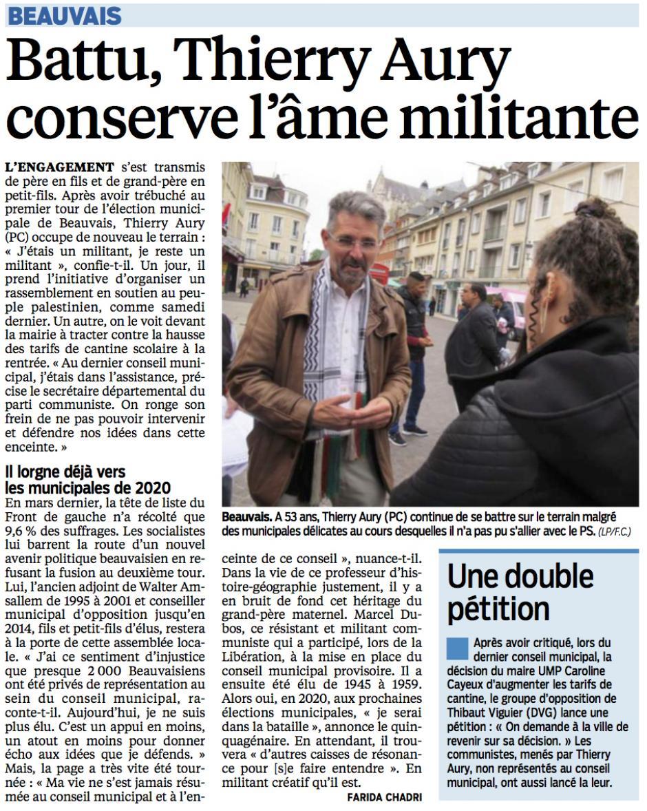 20140717-LeP-Beauvais-Battu, Thierry Aury conserve l'âme militante