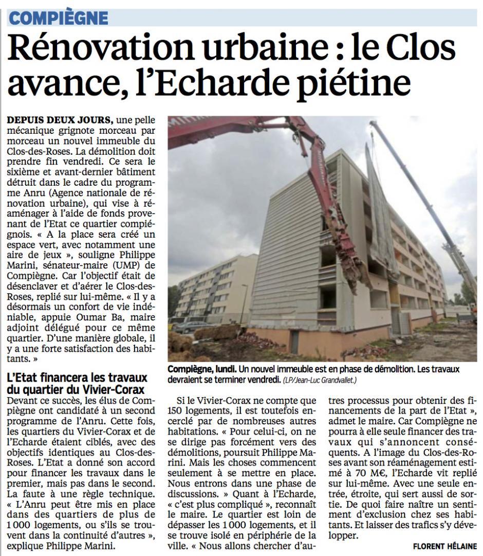 20140730-LeP-Compiègne-Rénovation urbaine : le Clos avance, l'Écharde piétine