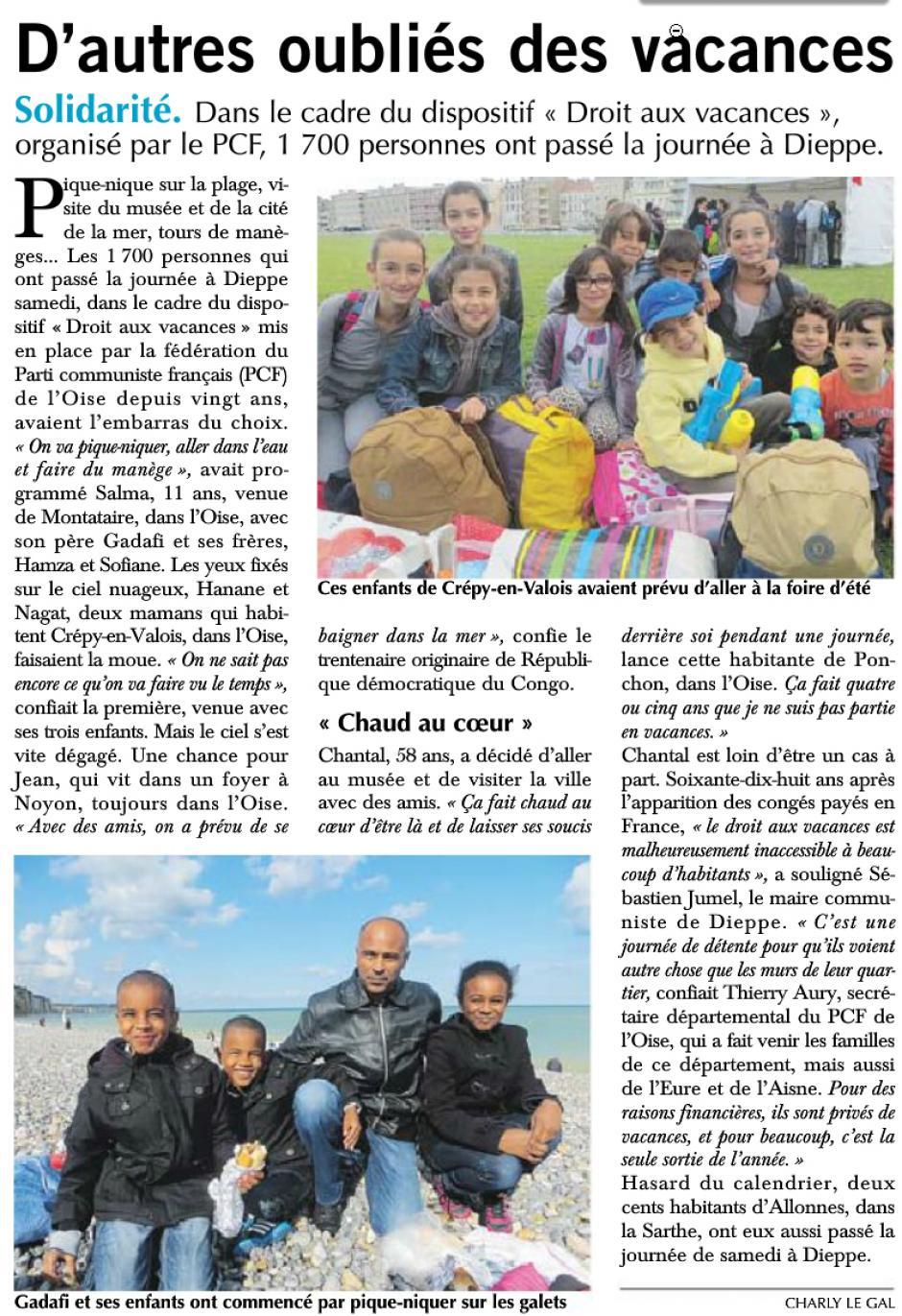20140825-Paris-Normandie-Dieppe-D'autres oubliés des vacances