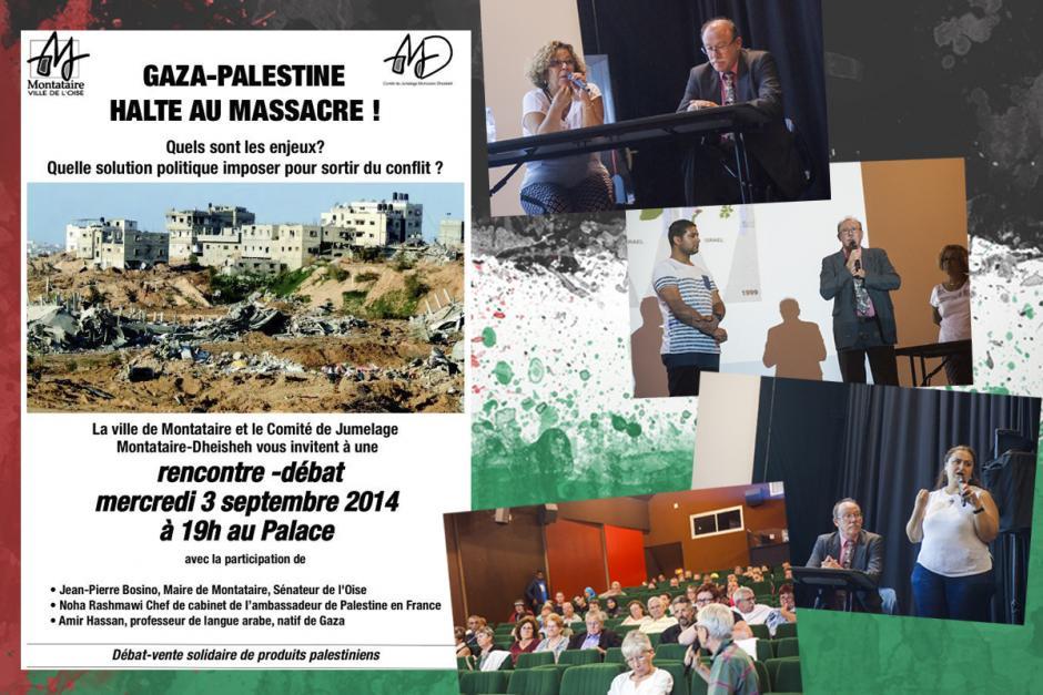 Palestine : « on n'a pas le droit de se décourager » - Montataire, 3 septembre 2014