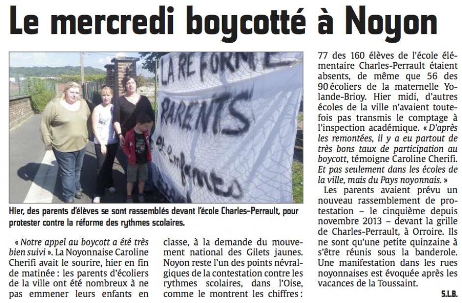 20141002-CP-Noyon-Le mercredi boycotté