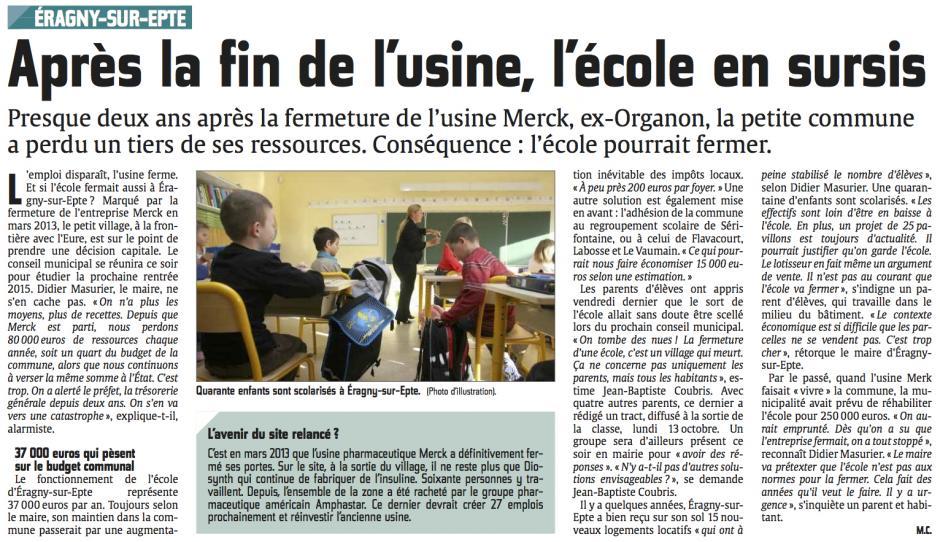 20141015-CP-�ragny-sur-Epte-Apr�s la fin de l'usine, l'�cole en ...
