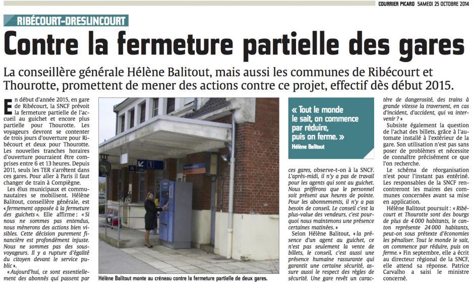 20141025-CP-Ribécourt-Dreslincourt-Thourotte-[Hélène Balitout] Contre la fermeture partielle des gares