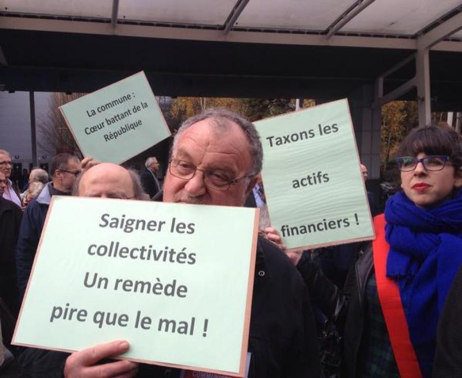 Congrès des maires - Porte de Versailles, 27 novembre 2014
