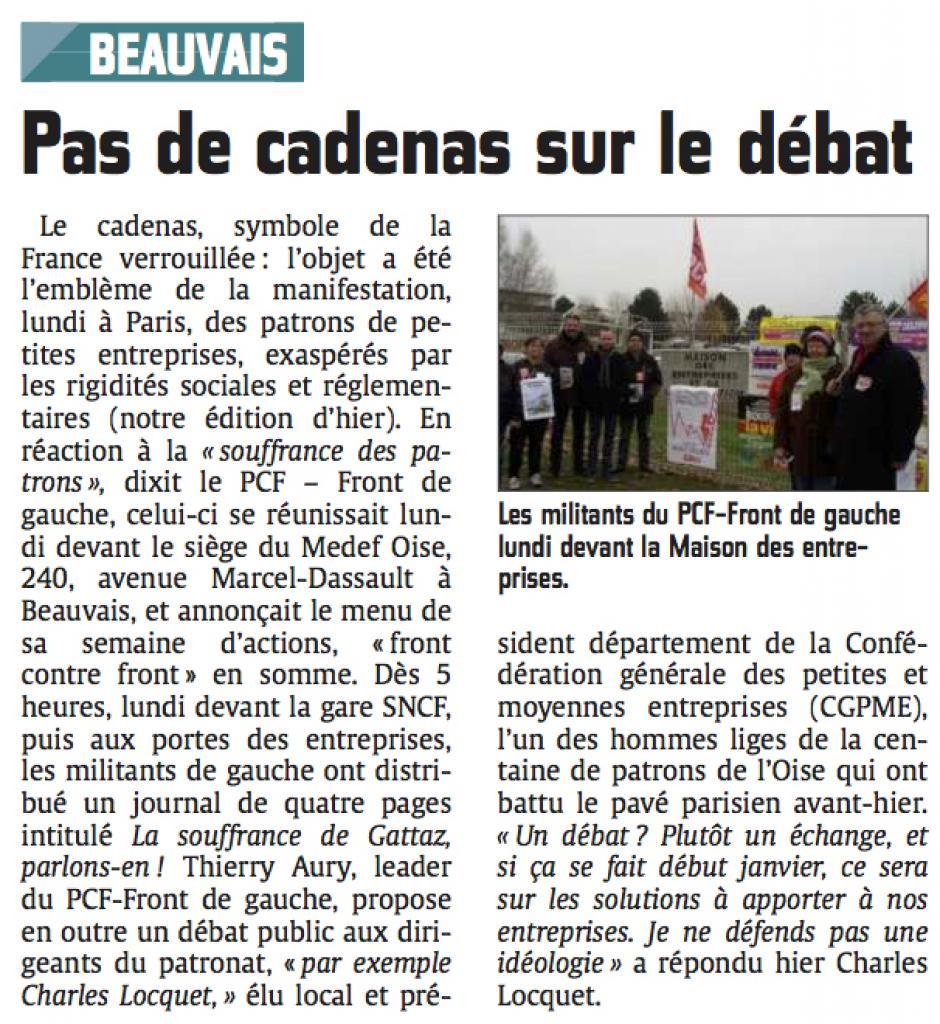 20141203-CP-Beauvais-Pas de cadenas sur le débat