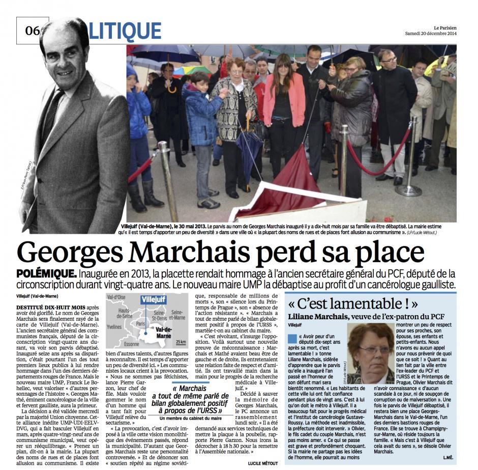 20141220-LeP-Villejuif-Georges Marchais perd sa place