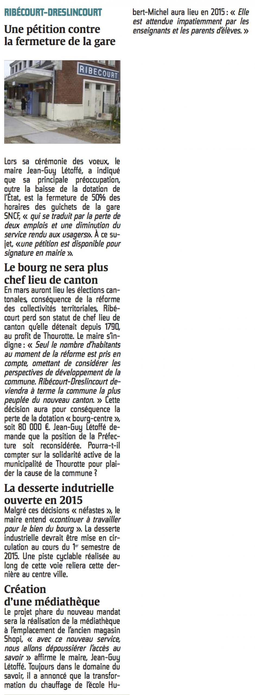 20150120-CP-Ribécourt-Dreslincourt-Une pétition contre la fermeture de la gare