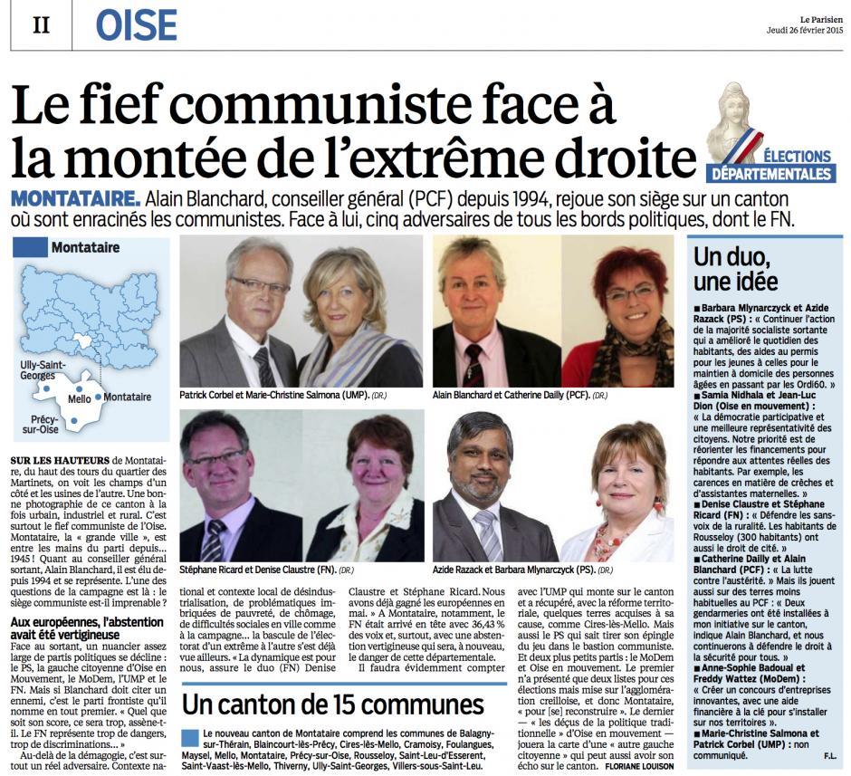 20150226-LeP-Montataire-D2015-Le fief des communistes face à la montée de l'extrême droite