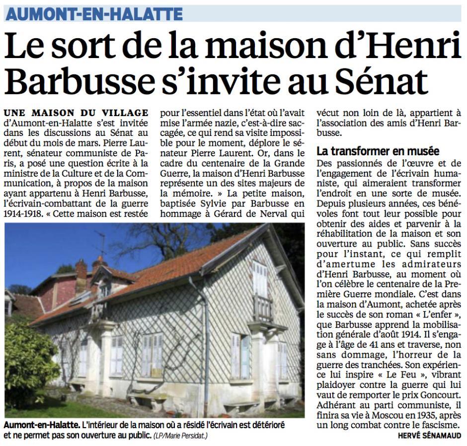 20150316-LeP-Aumont-en-Halatte-Le sort de la maison d'Henri Barbusse s'invite au Sénat