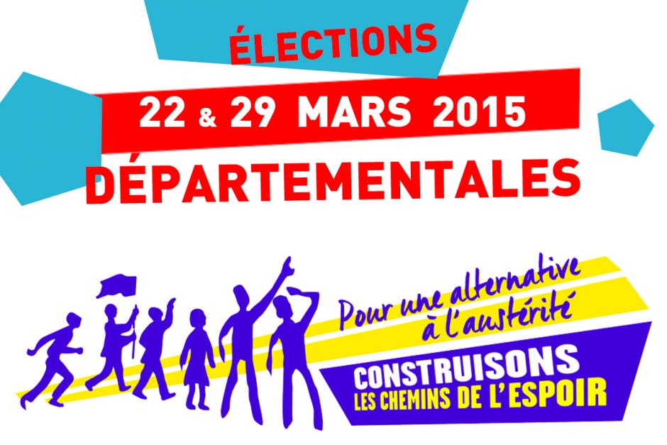 22 & 29 mars 2015, cantons de l'Oise - Élections départementales