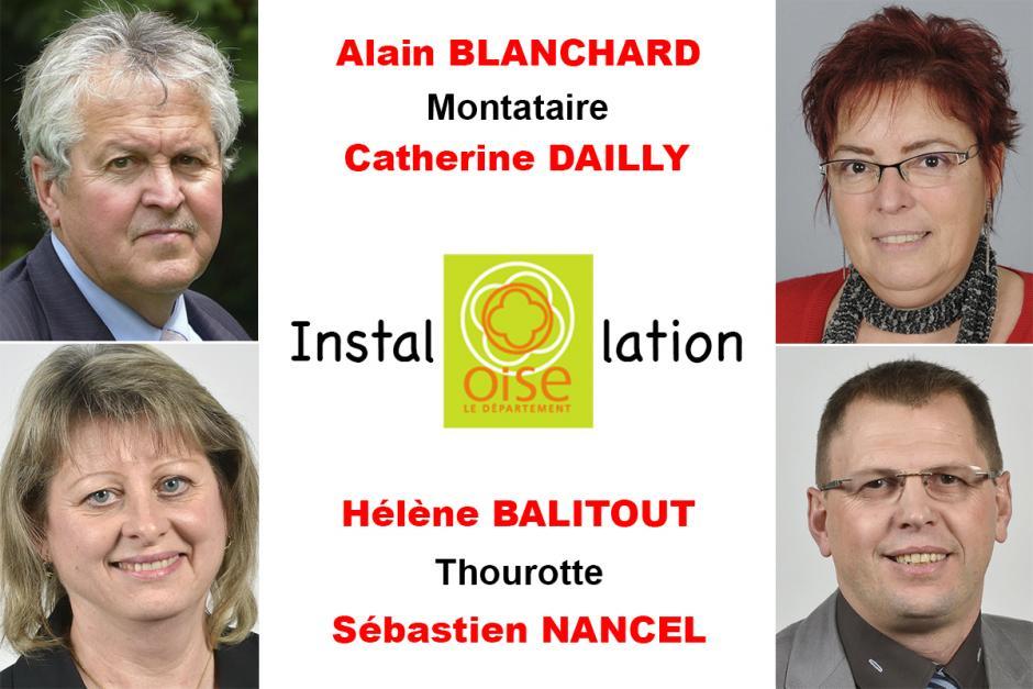 2 avril, Beauvais - Installation des élus PCF-Front de gauche au Conseil départemental