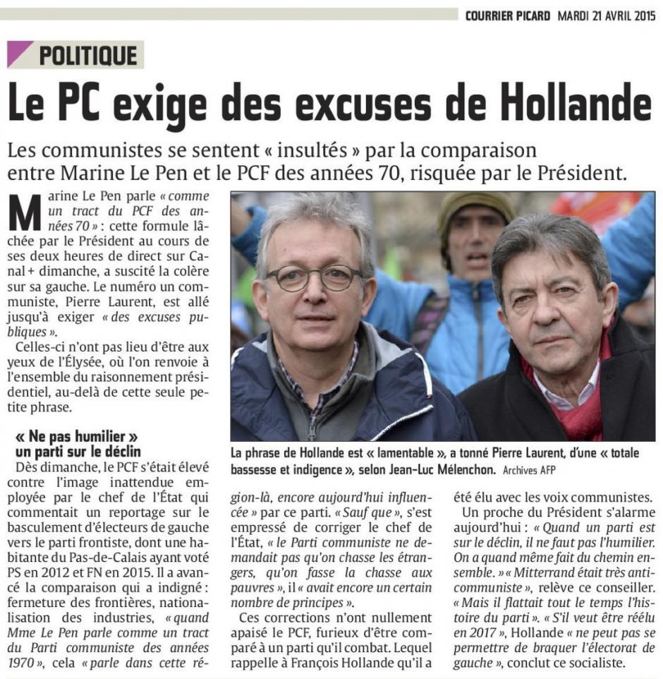 20150421-CP-France-Le PC exige des excuses de Hollande