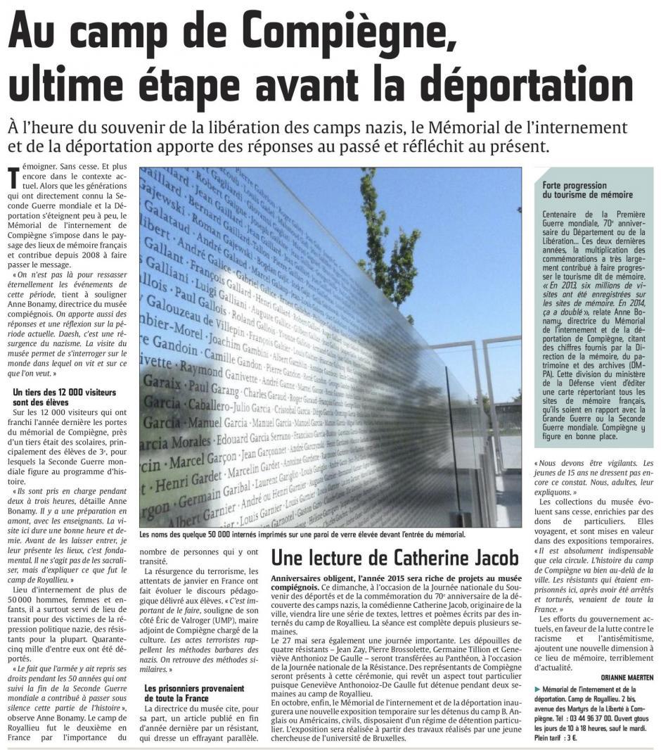 20150426-CP-Compiègne-Au camp de Royallieu, ultime étape avant la déportation
