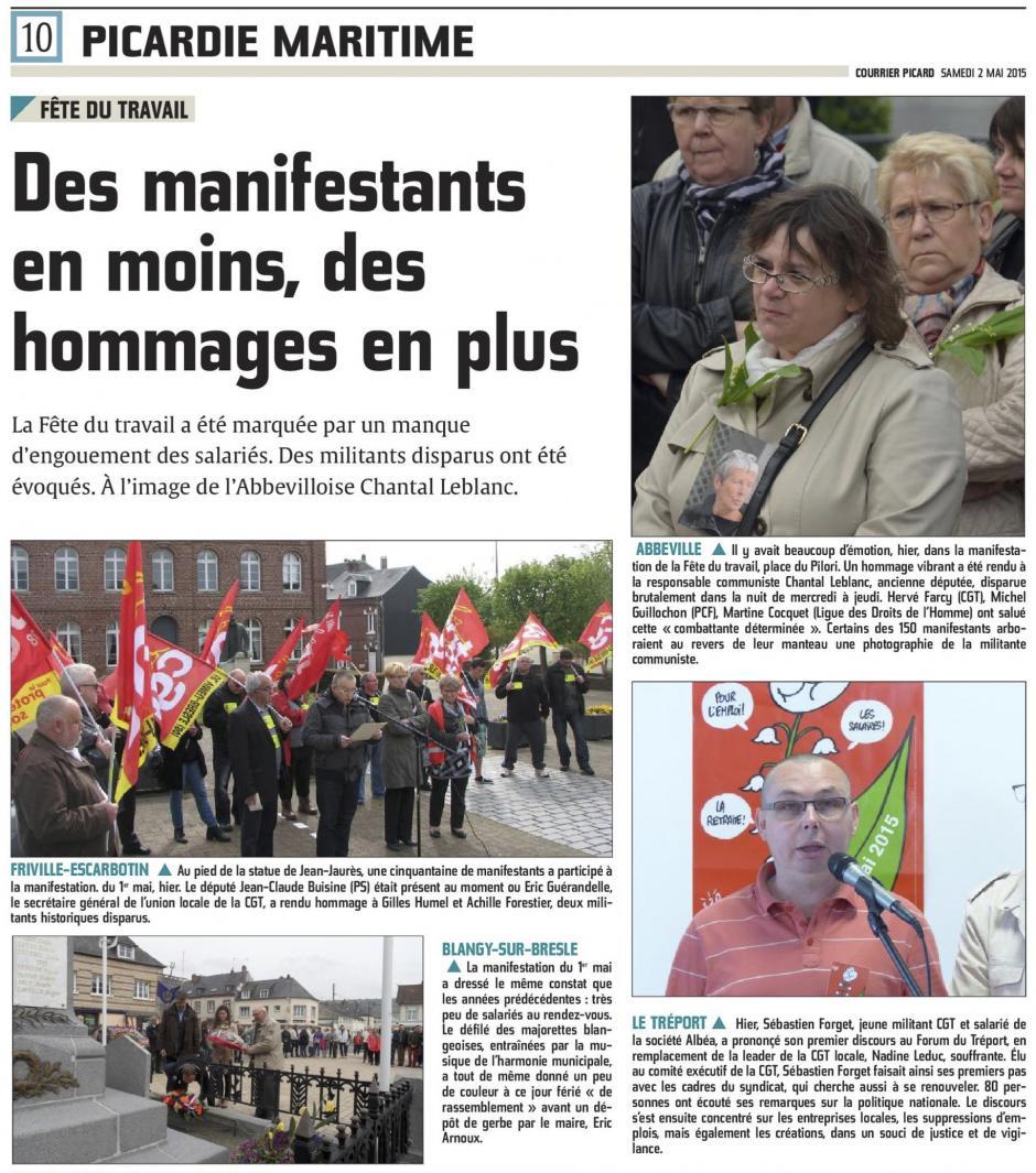 20150502-CP-Picardie maritime-Des manifestants en moins, des hommages en plus