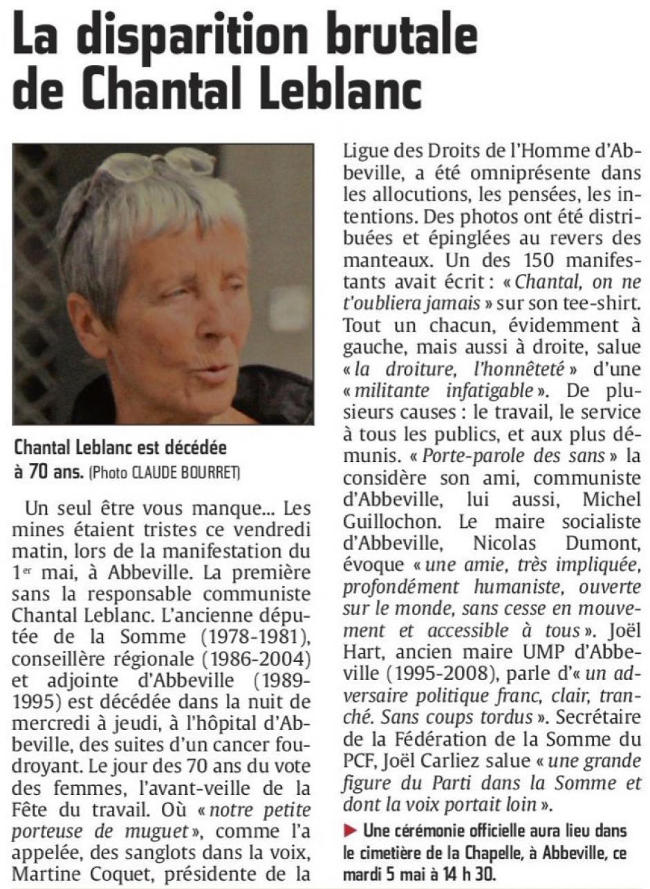 20150502-CP-Somme-La disparition brutale de Chantal Leblanc