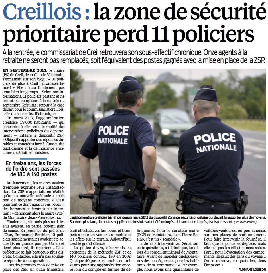 20150521-LeP-Creillois-La zone de sécurité prioritaire perd 11 policiers