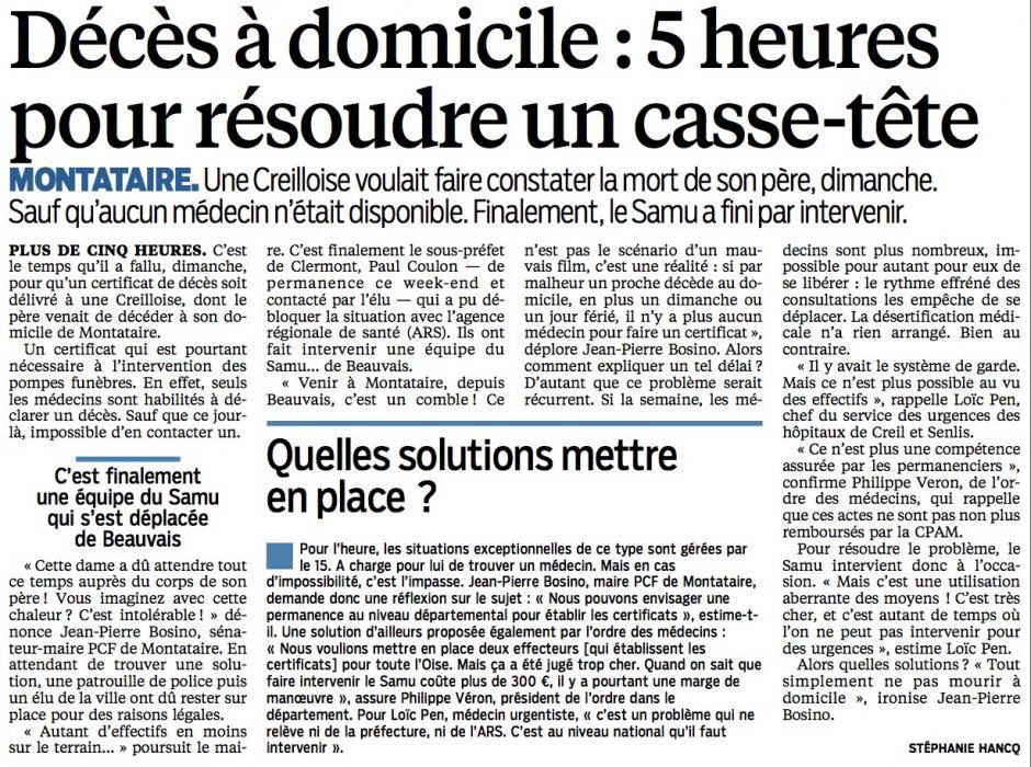 20150610-LeP-Montataire-Décès à domicile : 5 heures pour résoudre un casse-tête