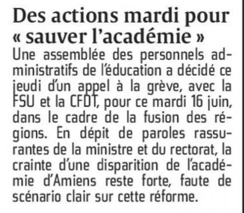 20150612-CP-Picardie-Des actions mardi pour «sauver l'académie »