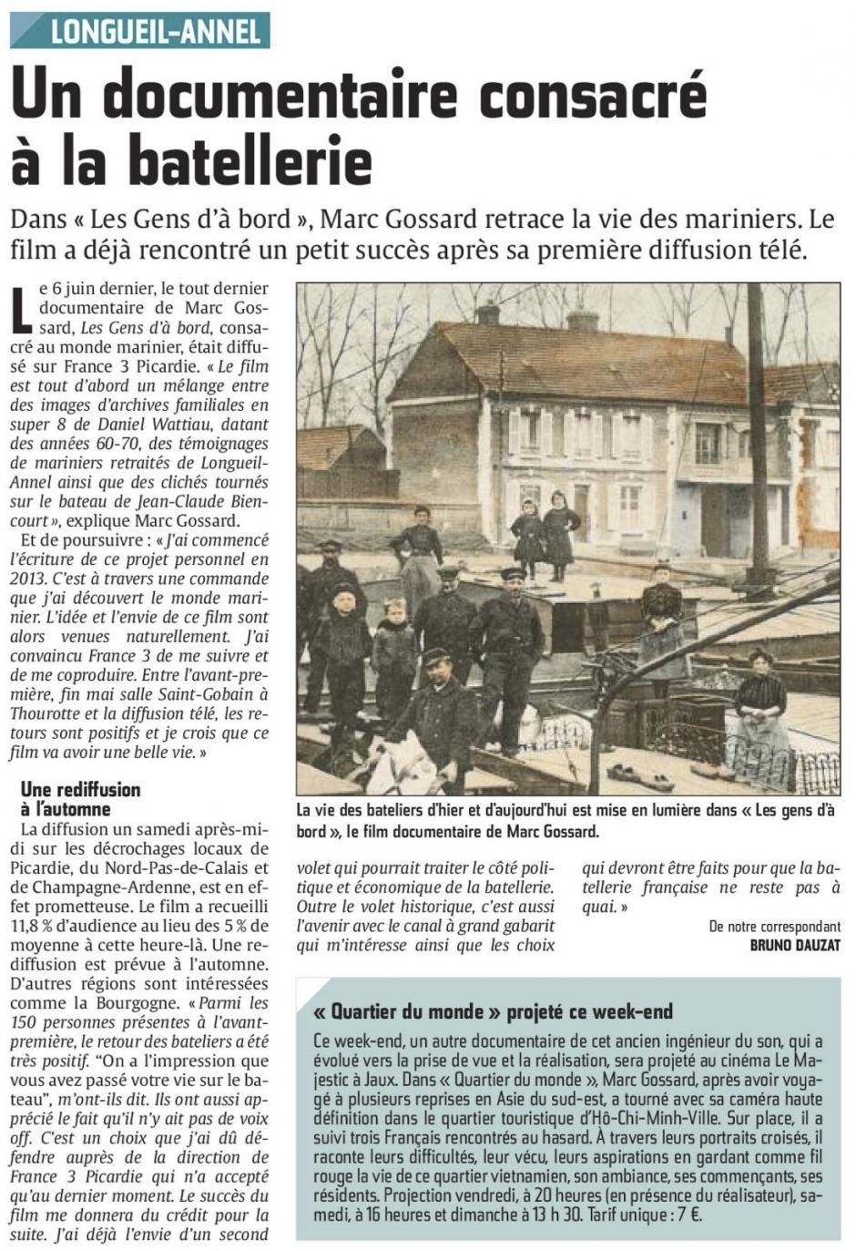 20150618-CP-Longueil-Annel-Un documentaire consacré à la batellerie
